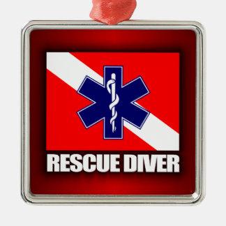 ERT Diver 2 Metal Ornament