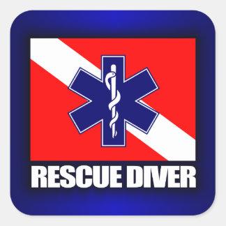 ERT Diver 2 Square Sticker