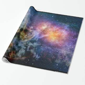 Erupting Space Nebula Wrapping Paper