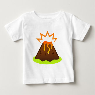Eruption lava Kids room design Baby T-Shirt