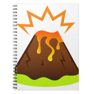 Eruption lava Kids room design Notebook