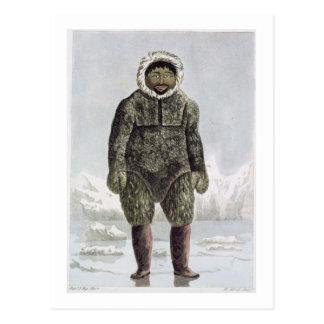 Ervick, un indigène de Bay de prince Regent's, gra Cartes Postales
