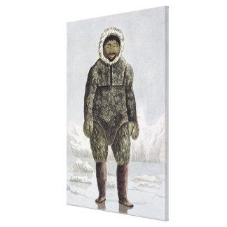 Ervick, un indigène de Bay de prince Regent's, gra Toiles Tendues