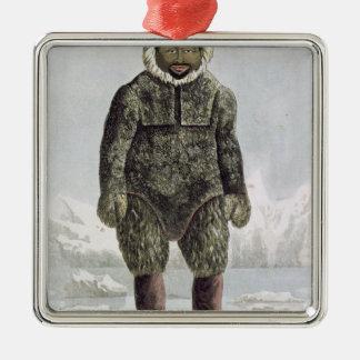 Ervick, un indigène de Bay de prince Regent's, Ornement Carré Argenté