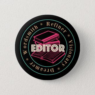E's Editor Badge 2 Inch Round Button