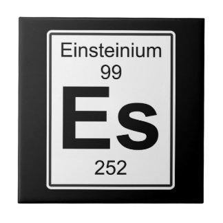Es - Einsteinium Tile