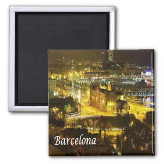 ES - Spain - Barcelona by Night Magnet