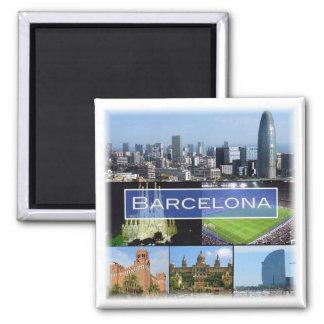 ES * Spain - Barcelona Magnet
