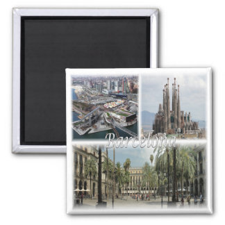 ES * Spain - Barcelona Spain Magnet
