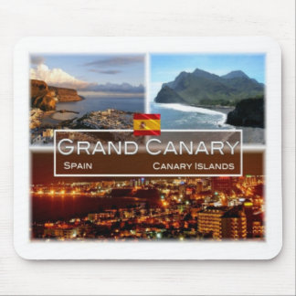 ES Spain - Espana - Gran Canaria - Canary Island - Mouse Pad