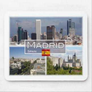 ES Spain - Espana - Madrid - Azca - Cbta - Mouse Pad