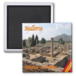 ES - Spain - Mallorca - Pollentia - the Ruins Magnet