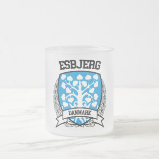 Esbjerg Frosted Glass Coffee Mug