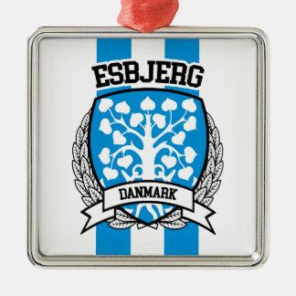 Esbjerg Metal Ornament