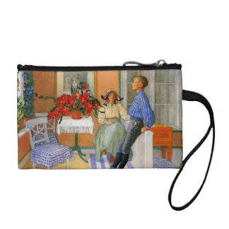 Esbjorn Brother and Sister in Sunroom Coin Wallet