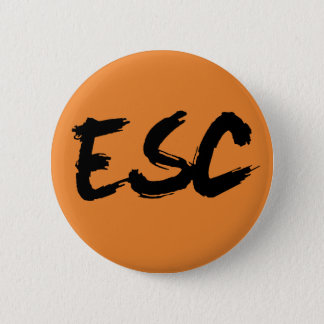 ESC Badge 2 Inch Round Button