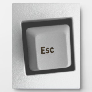 Esc Escape Key Plaque