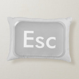 Esc Key Accent Pillow