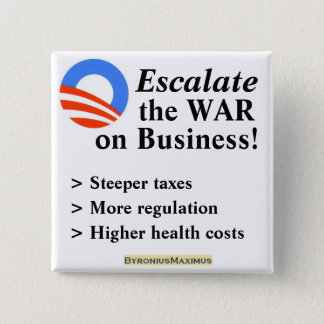 Escalate the War... 2 Inch Square Button
