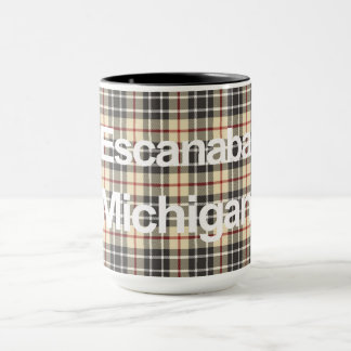 Escanaba, Michigan Mug