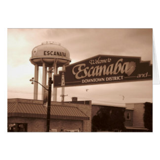 Escanaba Note Cards