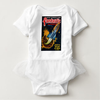 Escape from the Exploding Planet Baby Bodysuit