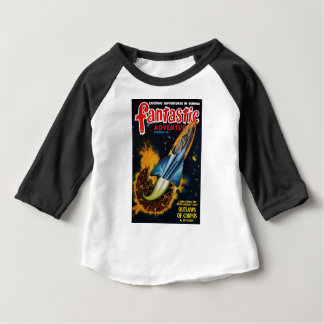 Escape from the Exploding Planet Baby T-Shirt