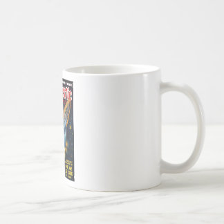 Escape from the Exploding Planet Coffee Mug