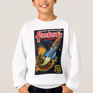 Escape from the Exploding Planet Sweatshirt
