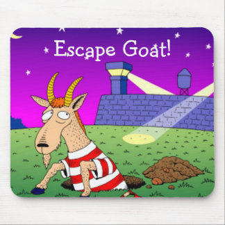 Escape Goat Mouse Pad