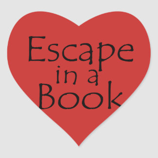 Escape in a Book Themed Sticker