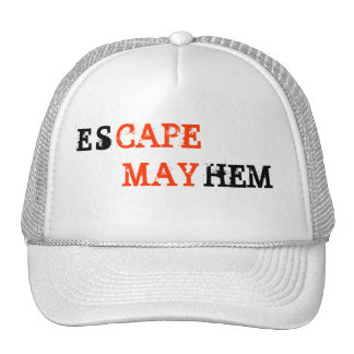 esCAPE MAYhem Cape May hat