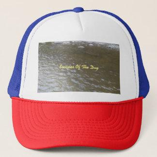 Escape Of The Day Trucker Hat By Cheyene M Lopez