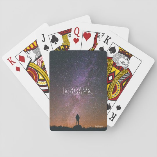 ESCAPE. - Playing Cards