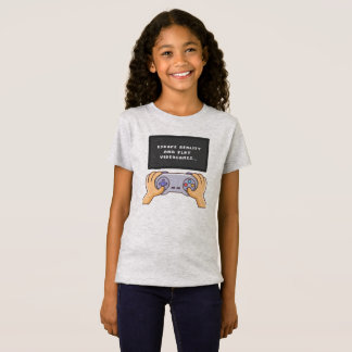Escape Reality & Play Video Games   Jersey Shirt