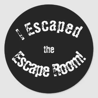 """Escape Room"" Achievement Stickers"