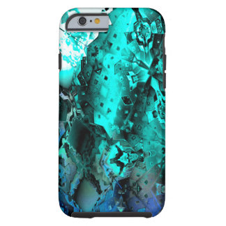 Escape the Hive (aqua) Tough iPhone 6 Case
