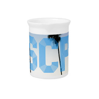 Escape to palm trees design drink pitchers
