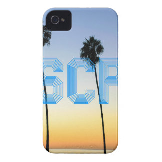 Escape to palm trees design iPhone 4 Case-Mate case