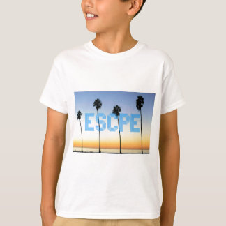 Escape to palm trees design T-Shirt