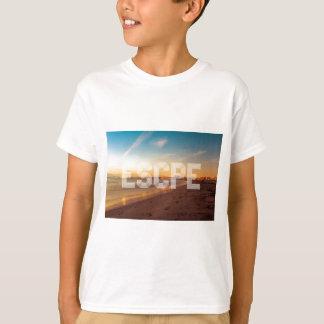 Escape to the beach design T-Shirt