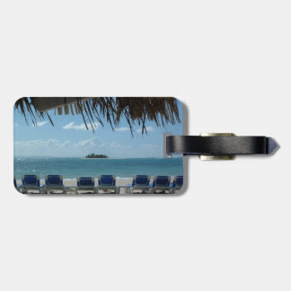 Escape to the Beach Luggage Tag