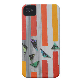 Escaping through Barriers iPhone 4 Case-Mate Cases