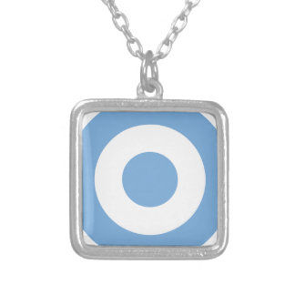 Escarapela Argentina - Roundel of Argentina Silver Plated Necklace