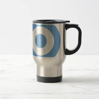 Escarapela Argentina - Roundel of Argentina Travel Mug