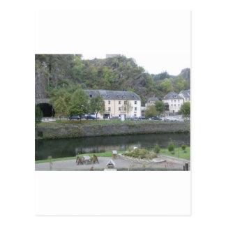 Esch sur Sûre, Luxembourg Post Card