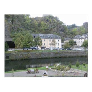 Esch sur Sûre, Luxembourg Postcard
