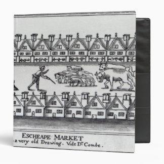 Escheape Market Vinyl Binder