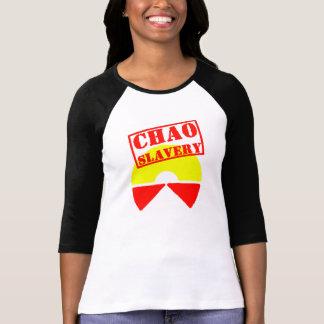 Esclavage de Chao au revoir dans le monde entier Tee-shirt