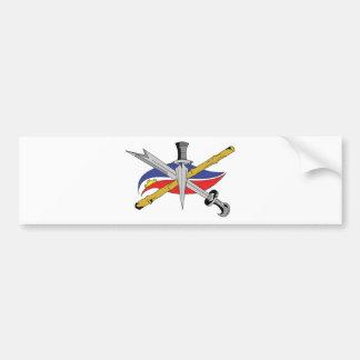 escrima-logo-transparent bumper sticker
